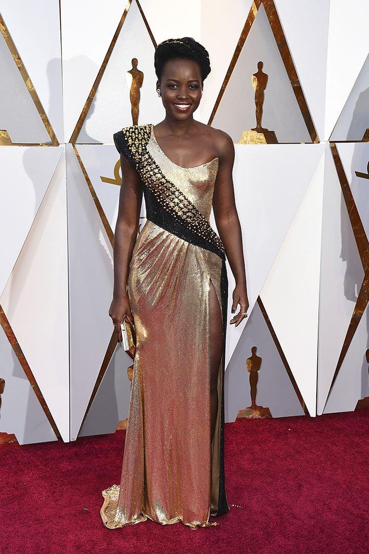 Lupita Nyong'o en los Premios Oscar 2018
