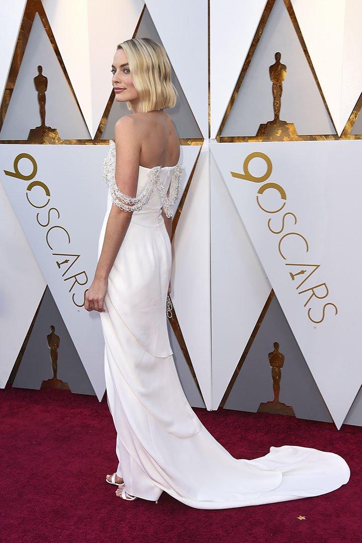 Margot Robbie en los Premios Oscar 2018