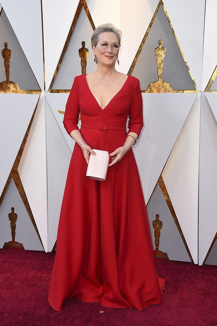 Meryl Streep en los Premios Oscar 2018