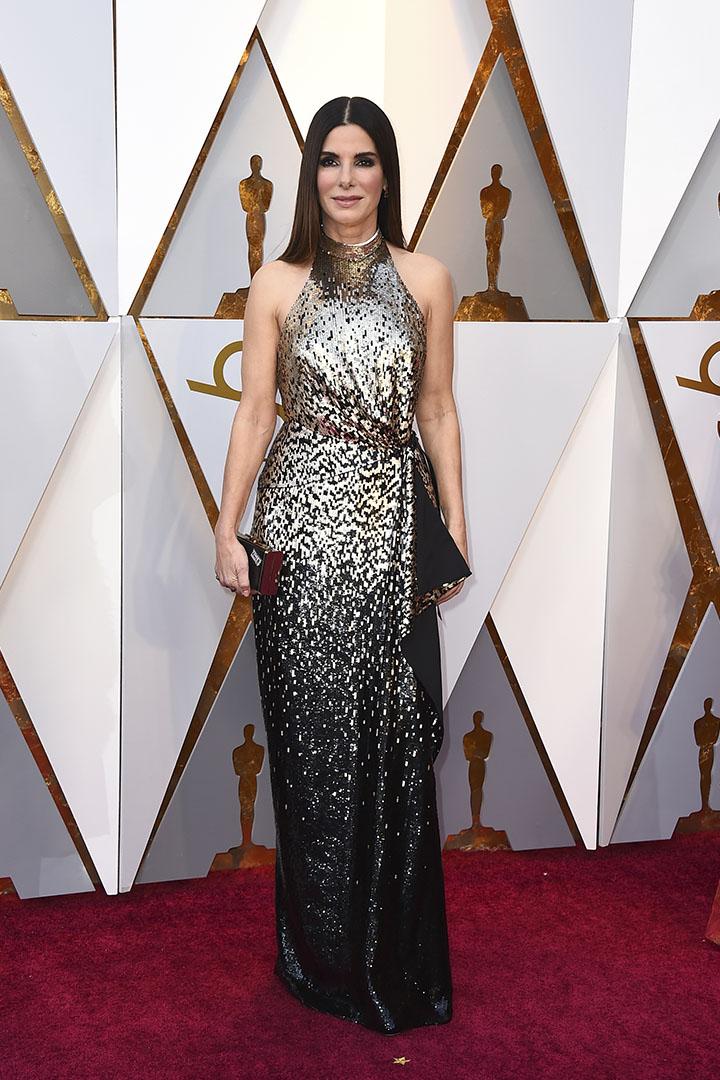 Sandra Bullock en los Premios Oscar 2018