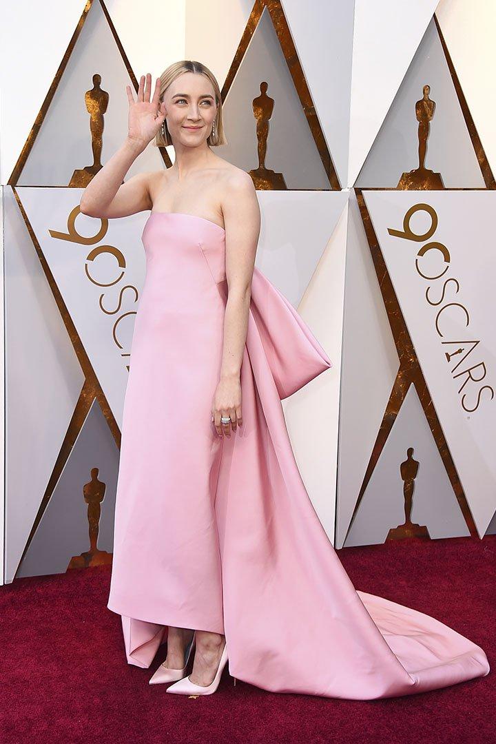 Saoirse Ronan en los Premios Oscar 2018