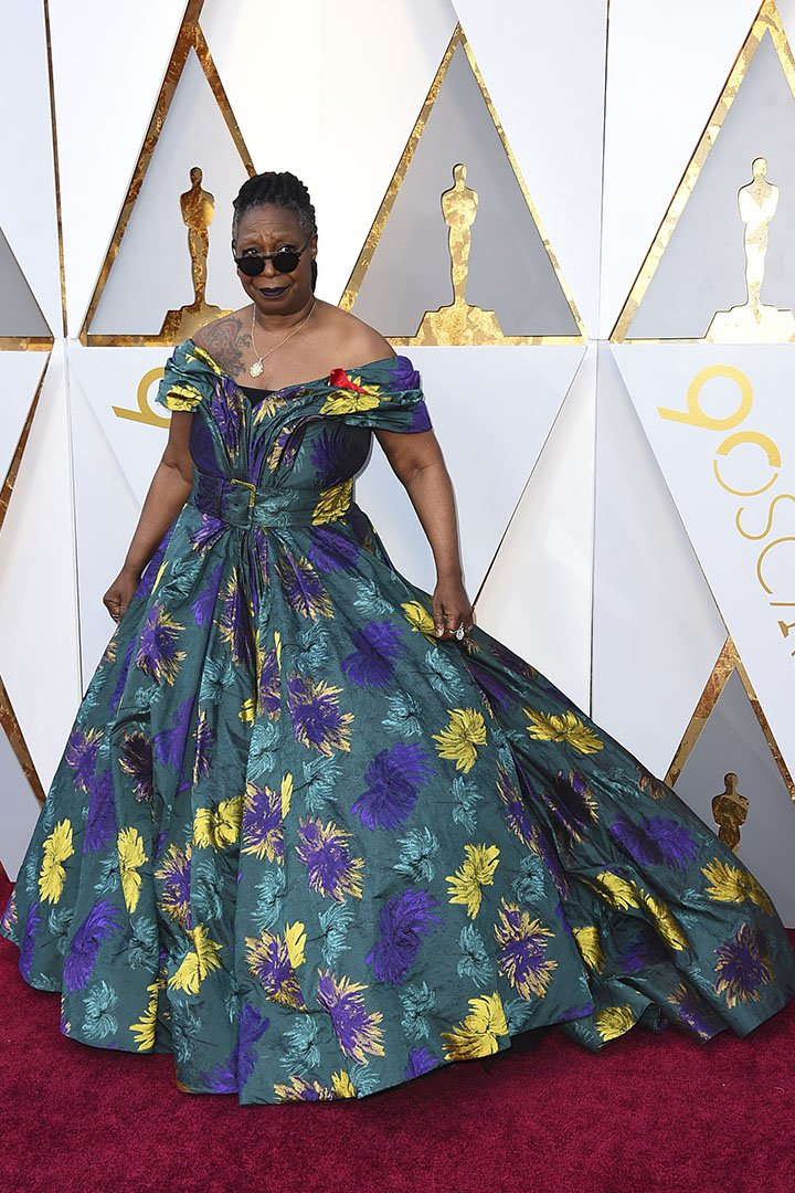 Whoopi Goldberg en los Premios Oscar 2018