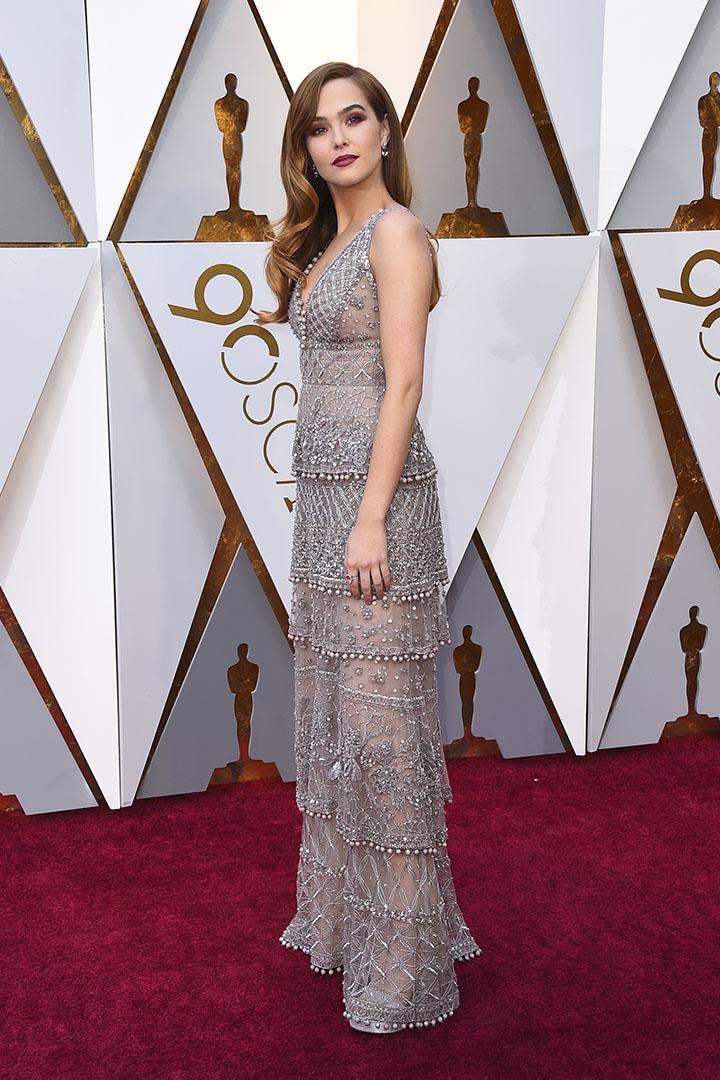 Zoey Deutch en los Premios Oscar 2018