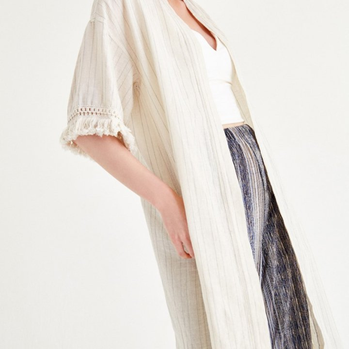Kimono largo de OXXO: imprescindibles para la maleta de verano