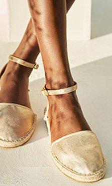 Zapatos metalizados para todos tus looks