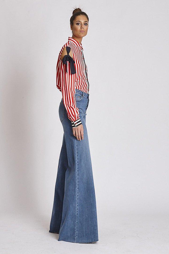 Pantalones vaqueros campana de Zaitegui