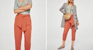 Pantalones fluidos para el verano