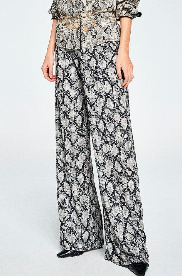 Pantalones de fiesta con estampado de leopardo