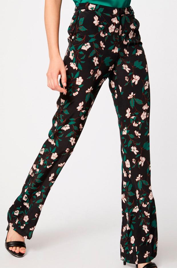 Pantalones de fiesta de flores