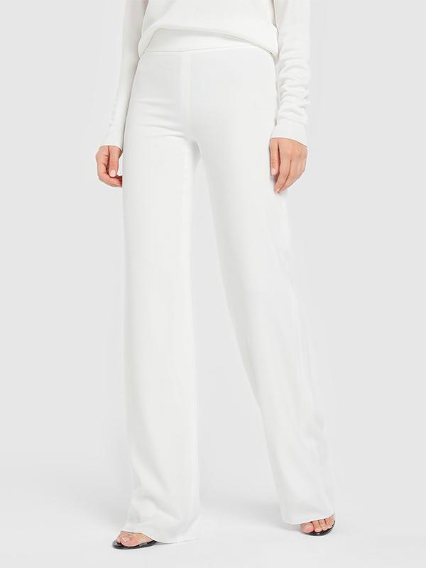 Pantalones palazzo blancos