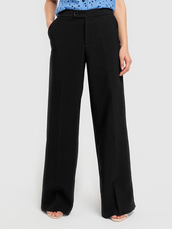 Pantalón ancho de mujer Fórmula Joven negro