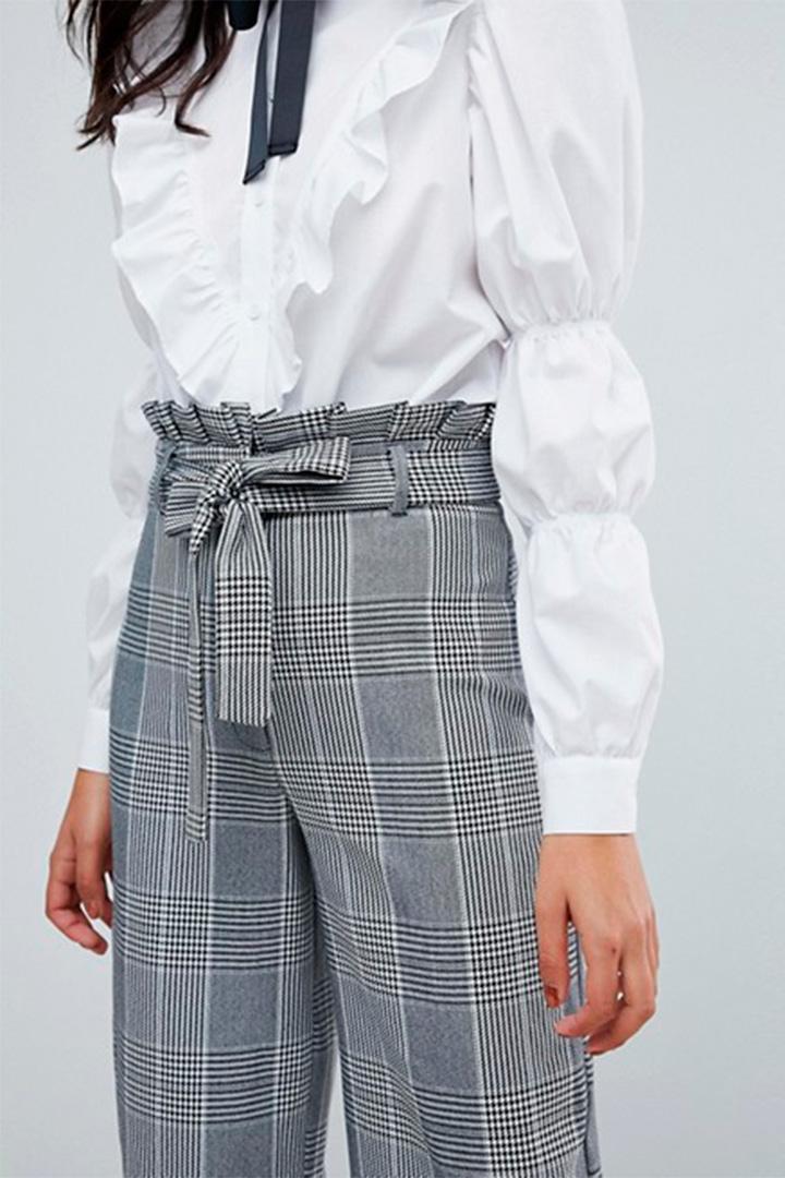 Pantalones Paper Bag Una Tendencia En Alza Stylelovely