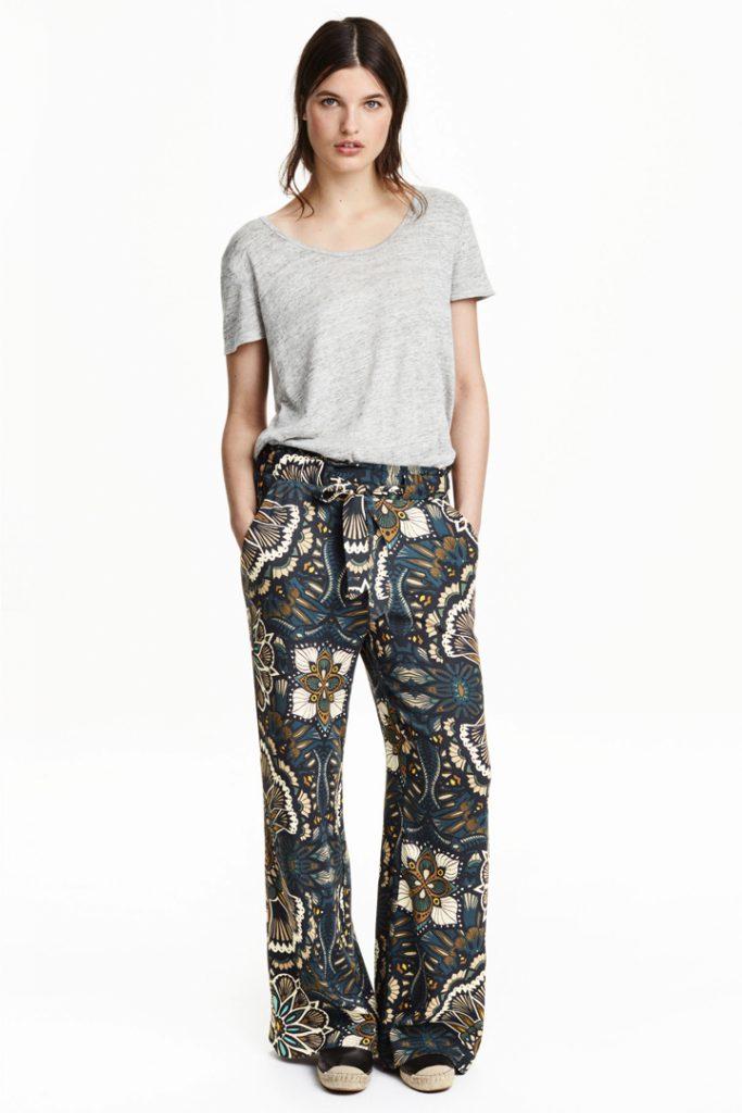 Pantalones estampados de HYM