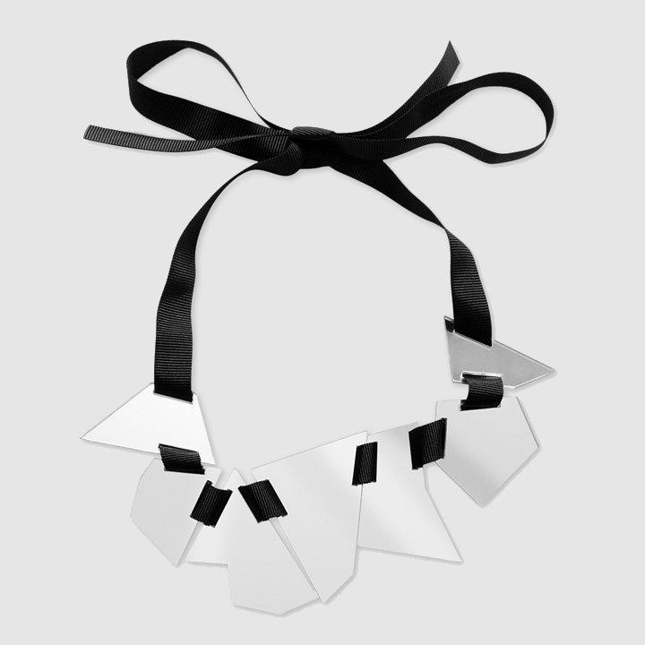 Collar La Bayadere II de plexiglás de Papiroga: complementos look fiesta