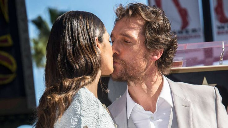 Parejas de celebrities estables: Matthew McConaughey y Camila Alves