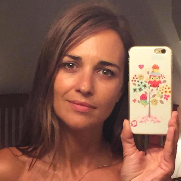 Paula Echevarría también se apunta a lucir la cara lavada
