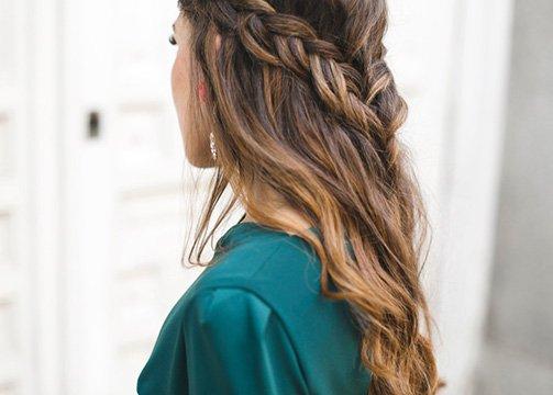 Peinados de invitada de boda 2018