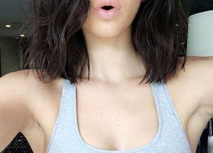 Kendall Jenner se corta el pelo