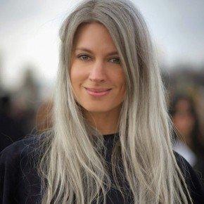 Pelo gris: la última moda entre las celebs
