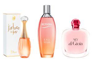 Los perfumes frescos para este verano