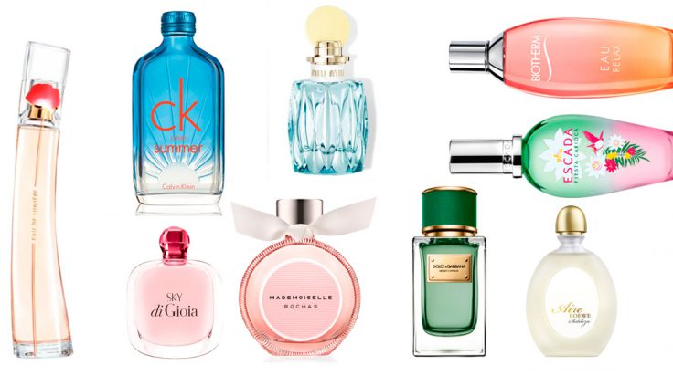 mejores perfumes florales frutales para mujer