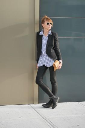 Natalia, Black Jacket