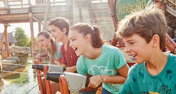 planes con niños port aventura
