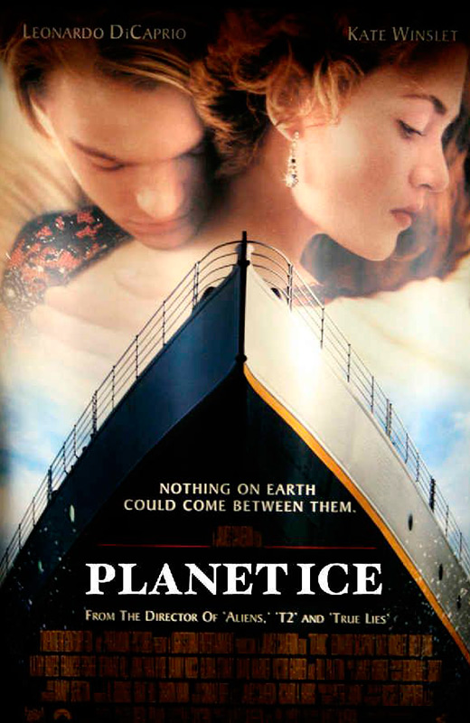 Titanic Planet Ice