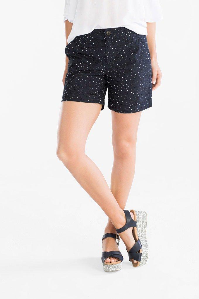 Pantalones de estampado de lunares