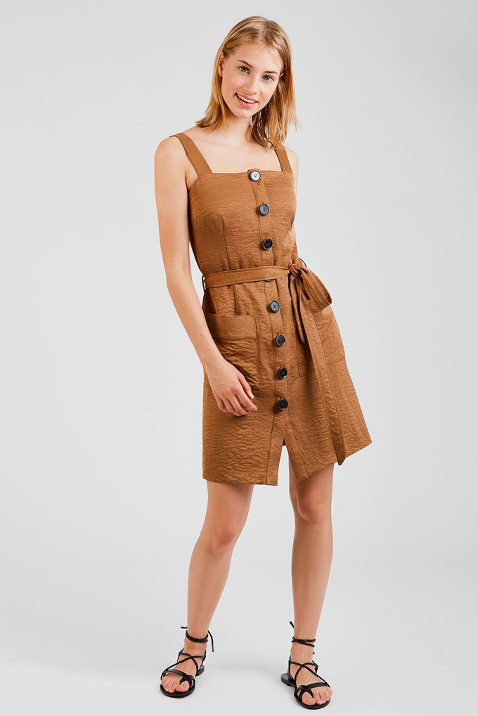 Vestidos versátiles en marrón