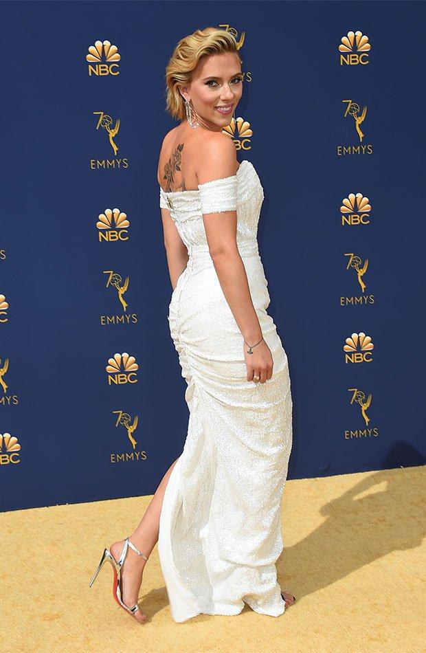Scarlett Johansson en los Premios Emmy 2018