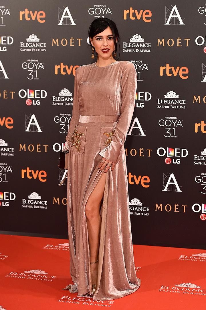 Premios Goya 2017 Cristina Brondo