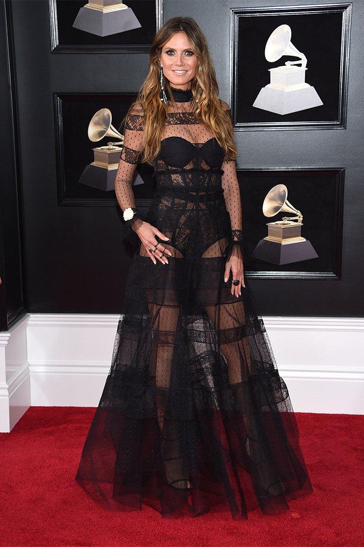 Premios Grammy 2018: Heidi Klum