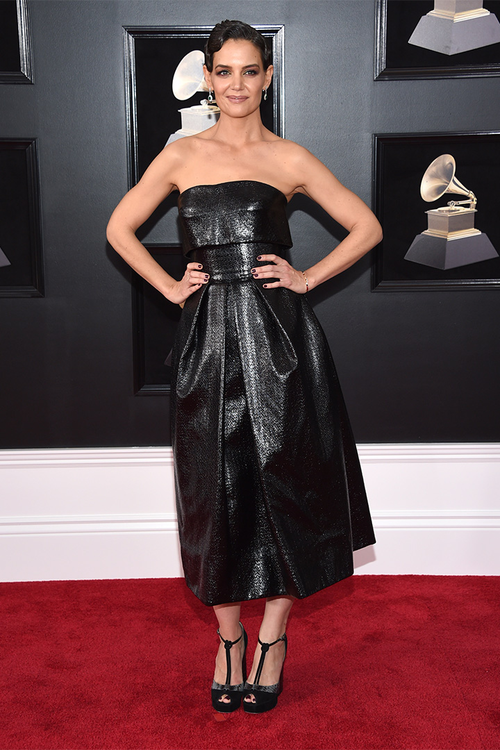 Premios Grammy 2018: Katie Holmes