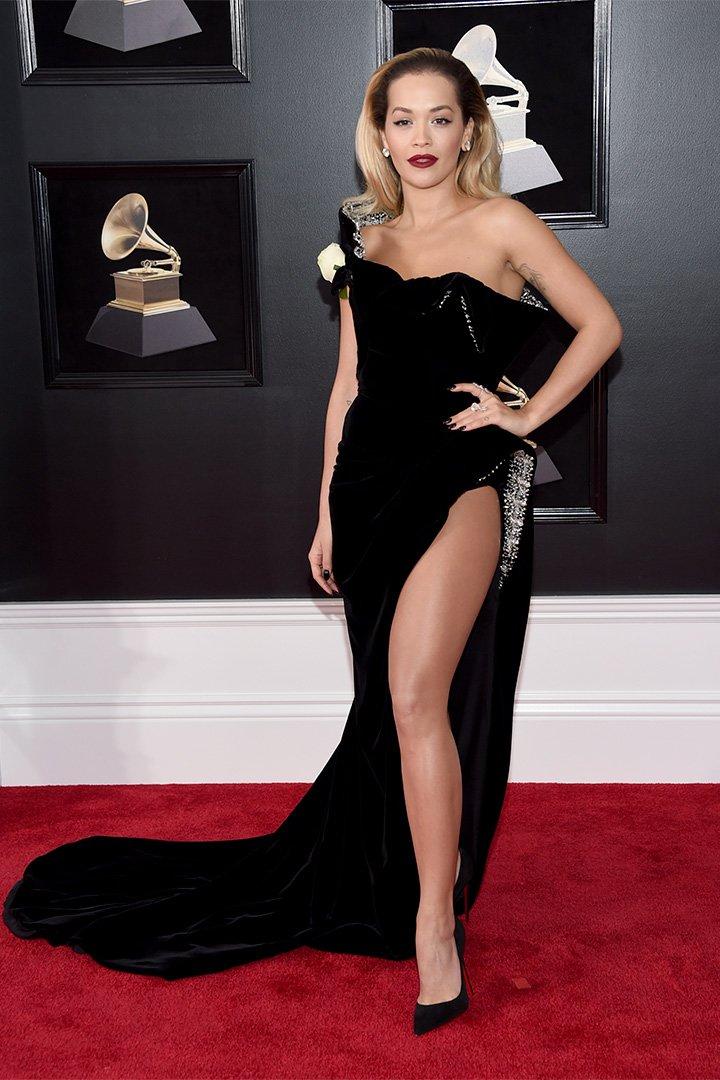 Premios Grammy 2018: Rita Ora