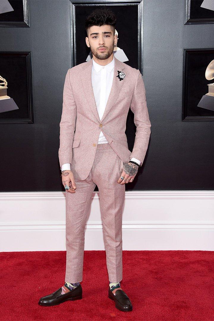Premios Grammy 2018: Zayn Malik