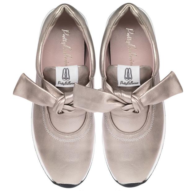 Zapatillas metalizadas