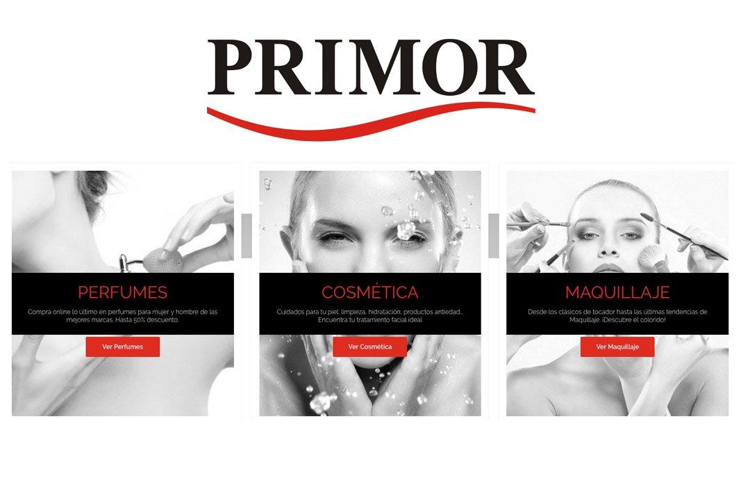Primor: mejores tiendas online de belleza