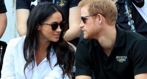 Así ha sido la primera aparición pública oficial del príncipe Harry y Meghan Markle