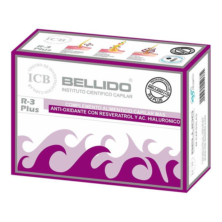 Productos para el cabello: Cápsulas Complemento Alimenticio Capilar Mas R-3 Plus Bellido