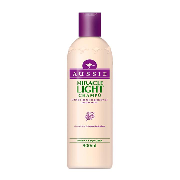 Productos para el cabello: champú de Aussi