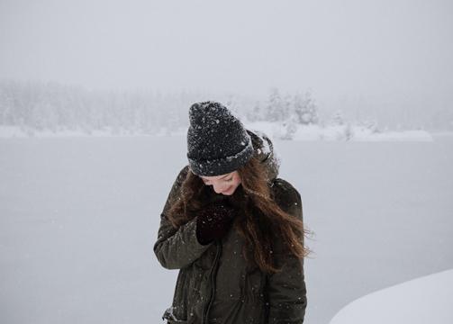 pelo piel invierno
