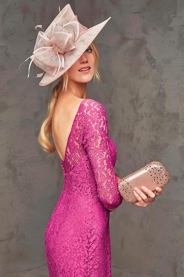 vestido corto pronovias