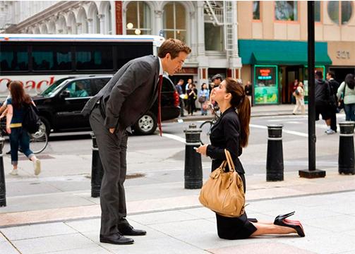 The proposal scene