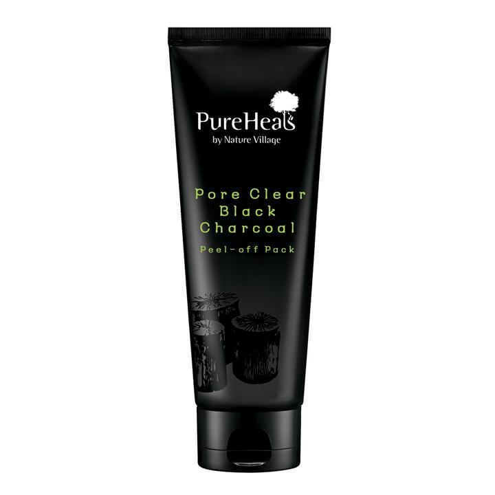 Mascarilla facial Peel-off Carbón Negro de Pure Heals: productos mimar tu piel