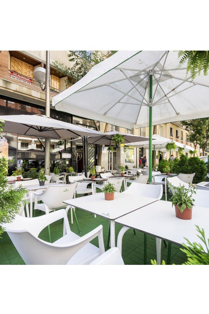 Purnima: Terrazas de Madrid