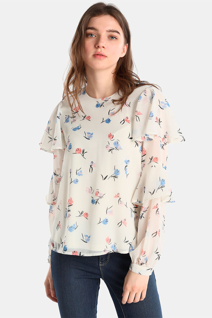 Camisa de flores de las rebajas de verano de El Corte Inglés