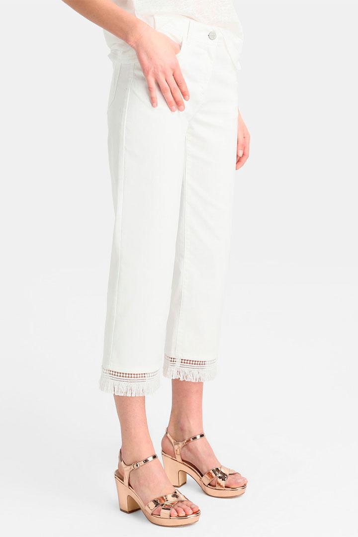 Pantalones blancos de las rebajas de verano de El Corte Inglés