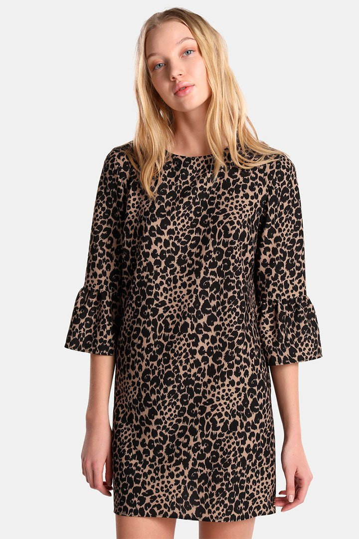 Vestido de leopardo de las rebajas de verano de El Corte Inglés