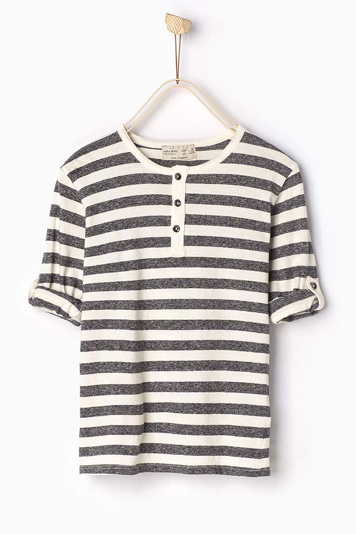 Camiseta de rayas de Zara Kids